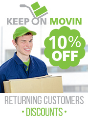 Keep On Movin 10% Off for returning customers